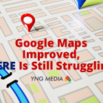 Google Maps Improved, HERE is still Struggling.